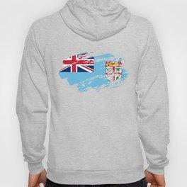 Fiji Flag Tee Shirt Hoody