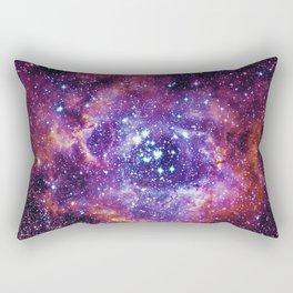Rosette Nebula Rectangular Pillow