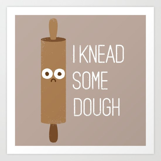 Short Bread Art Print