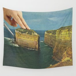 Serving up cake by the seaside Wall Tapestry