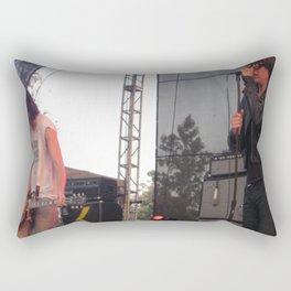 Julian and Nick - The Strokes Rectangular Pillow