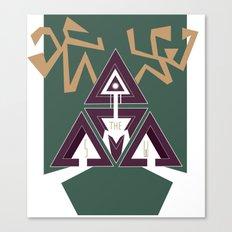 DEERHORN Canvas Print