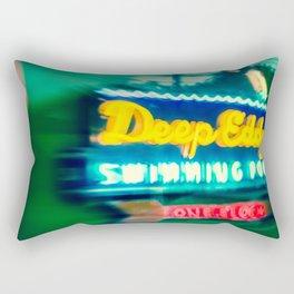 Deep Eddy Swim Neon Sign Rectangular Pillow