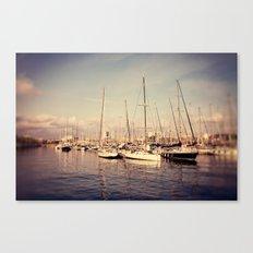 Port Vell Barcelona Spain Canvas Print