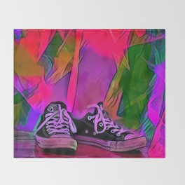 Dance Shoes Throw Blanket