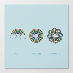 Particle Canvas Print