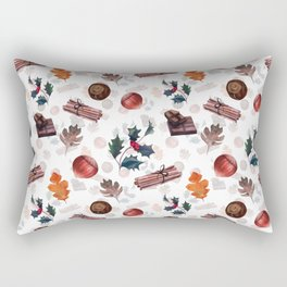 Christmas morning Rectangular Pillow