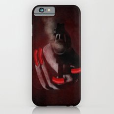 Grunge Bang Bang Red Nails  Slim Case iPhone 6s
