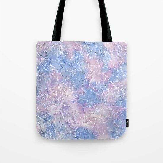 Frozen Leaves 10 Tote Bag