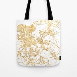 HAVANA CUBA CITY STREET MAP ART Tote Bag