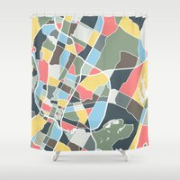 austin Shower Curtains featuring Austin Texas. by Studio Tesouro
