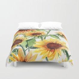 Sunflowers Duvet Cover