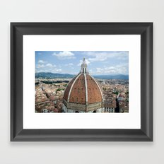 florence cathedral, italy. Framed Art Print