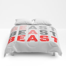 Be a Beast Comforters