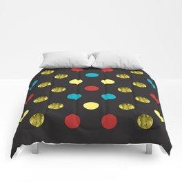 Golden Dots Comforters