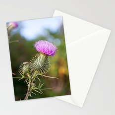 Bull Thistle in Mt. Rogers, Virginia Stationery Cards