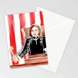 Impeached | Nancy Pelosi  Stationery Cards