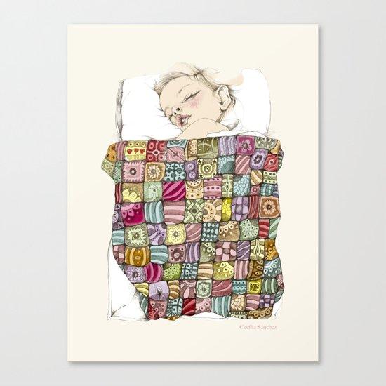 sleeping child Canvas Print