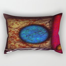 Tokens Rectangular Pillow