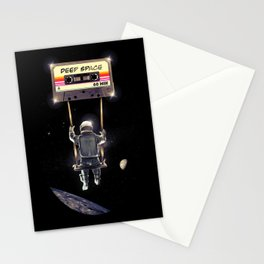Deep Space Mix Tape Stationery Cards
