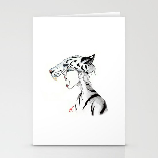 The Masquerade:  The Siberian Stationery Cards