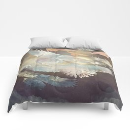 Midnight Flight Comforters