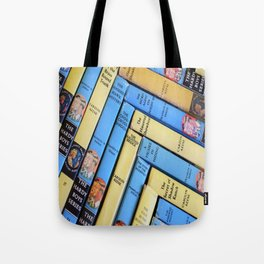 Nancy Drew & Hardy Boy Book Weave Tote Bag