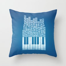 City of Amp Throw Pillow