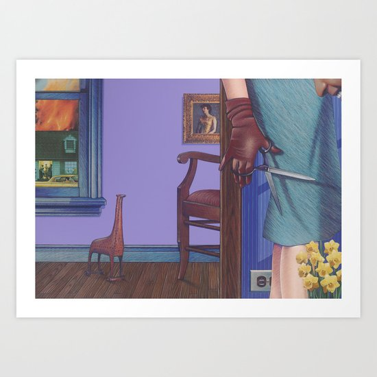 another sad story Art Print
