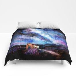 Tekapo Milky Way Comforters