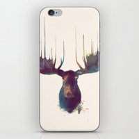 american beauty iPhone & iPod Skins featuring Moose by Amy Hamilton