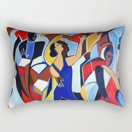 Loco Caliente Rectangular Pillow
