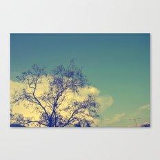 Lone Light Canvas Print