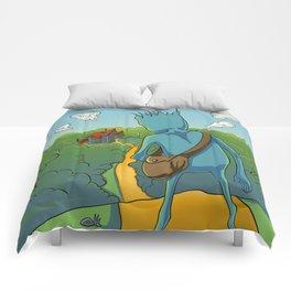 LUNA Adventures Of The Traveling Moon Comforters