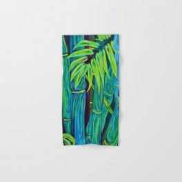 ʻOhe Polū - Blue Bamboo Hand & Bath Towel