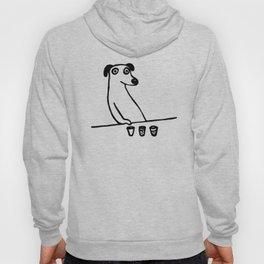 Drunk Dog T Shirt Graphic Hoody