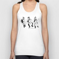 cello Tank Tops featuring Cello player by Suzannah Rowntree