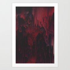 Sangre Art Print