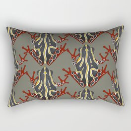 congo tree frog Rectangular Pillow