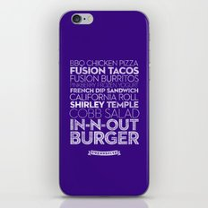 Los Angeles — Delicious City Prints iPhone & iPod Skin