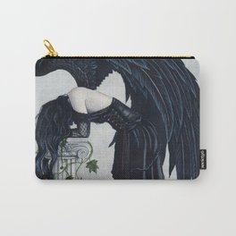 Despair Gothic Angel Carry-All Pouch