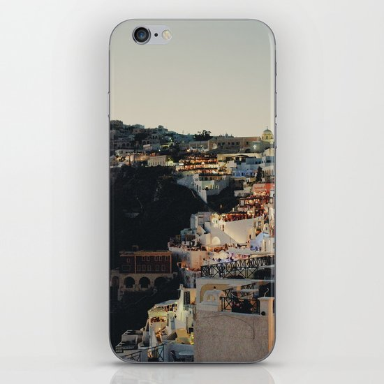 Fira at Dusk iPhone & iPod Skin