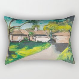 Golden Girls,Each View is an Postcard.... Rectangular Pillow