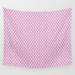 Chicken Wire Blush Wall Tapestry