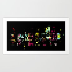 PXL III Art Print