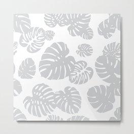 Multicolor Tropical Leaves 6 Metal Print