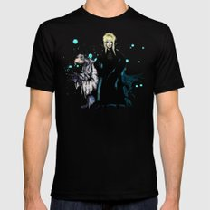 Chamberlain & Jareth X-LARGE Black Mens Fitted Tee