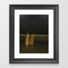 Sing me to sleep Framed Art Print