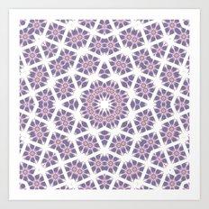 Mandala Star Art Print
