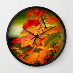 Tumble Down Fire Wall Clock